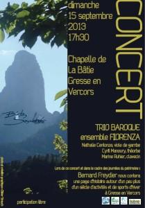 concert Fiorenza , La Batie